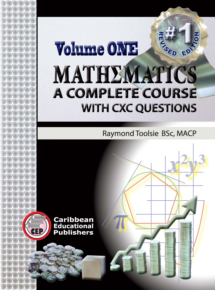 mathematics a complete course with cxc questions volume 1